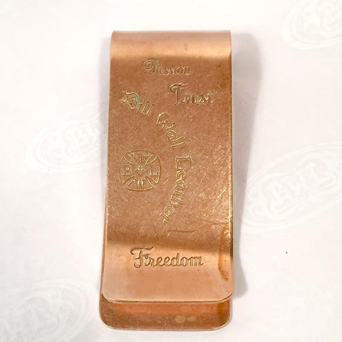 Money Clip Bronze Hand Made low Limit