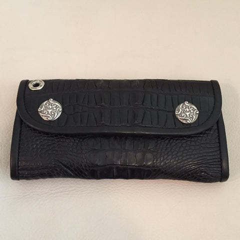 Hornback Gator TAIL Large Currency Wallet