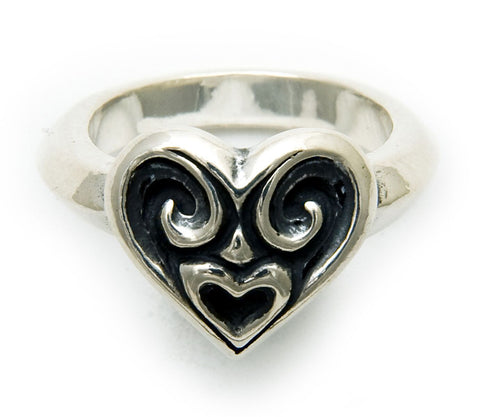 Tribal Heart Ring