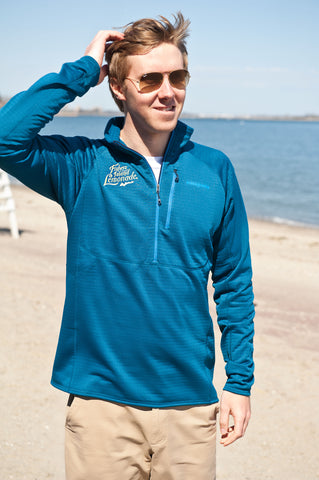 FIL Men's Blue Patagonia Fleece