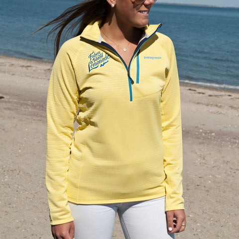 FIL Ladies Yellow Patagonia Fleece