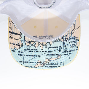 Trucker Map Hat