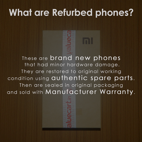 Refurbished/ refurbed smartphones
