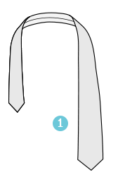 How to tie a tie: Windsor Knot