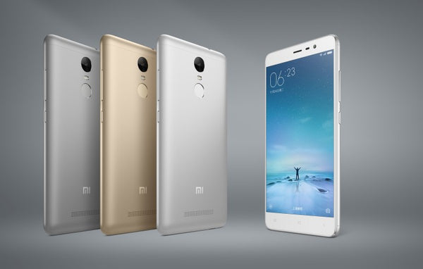 Xiaomi announces Redmi Note 3 with fingerprint sensor