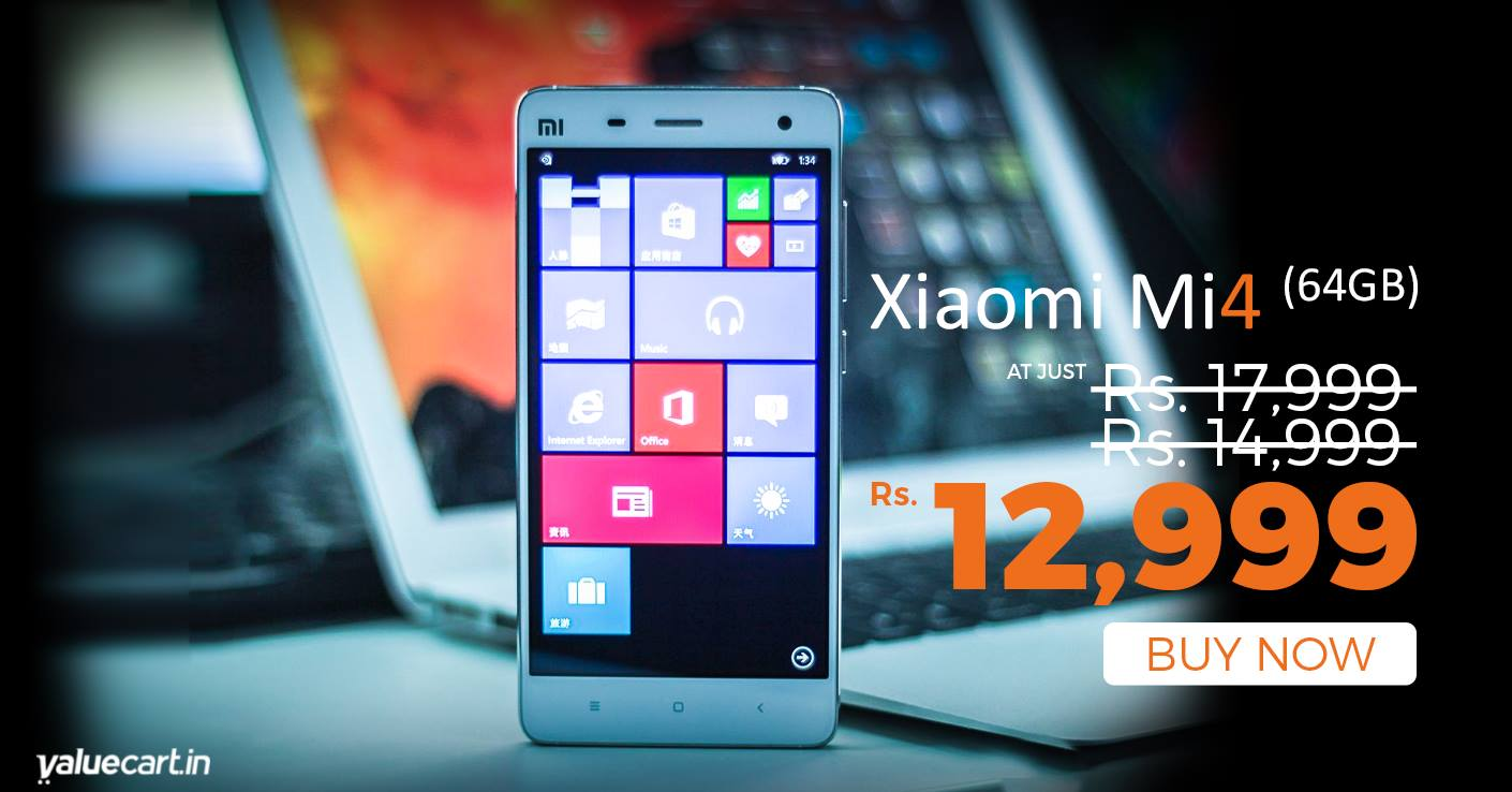 Xiaomi-Mi4-64GB-Windows10-Rs.12999-Valuecart