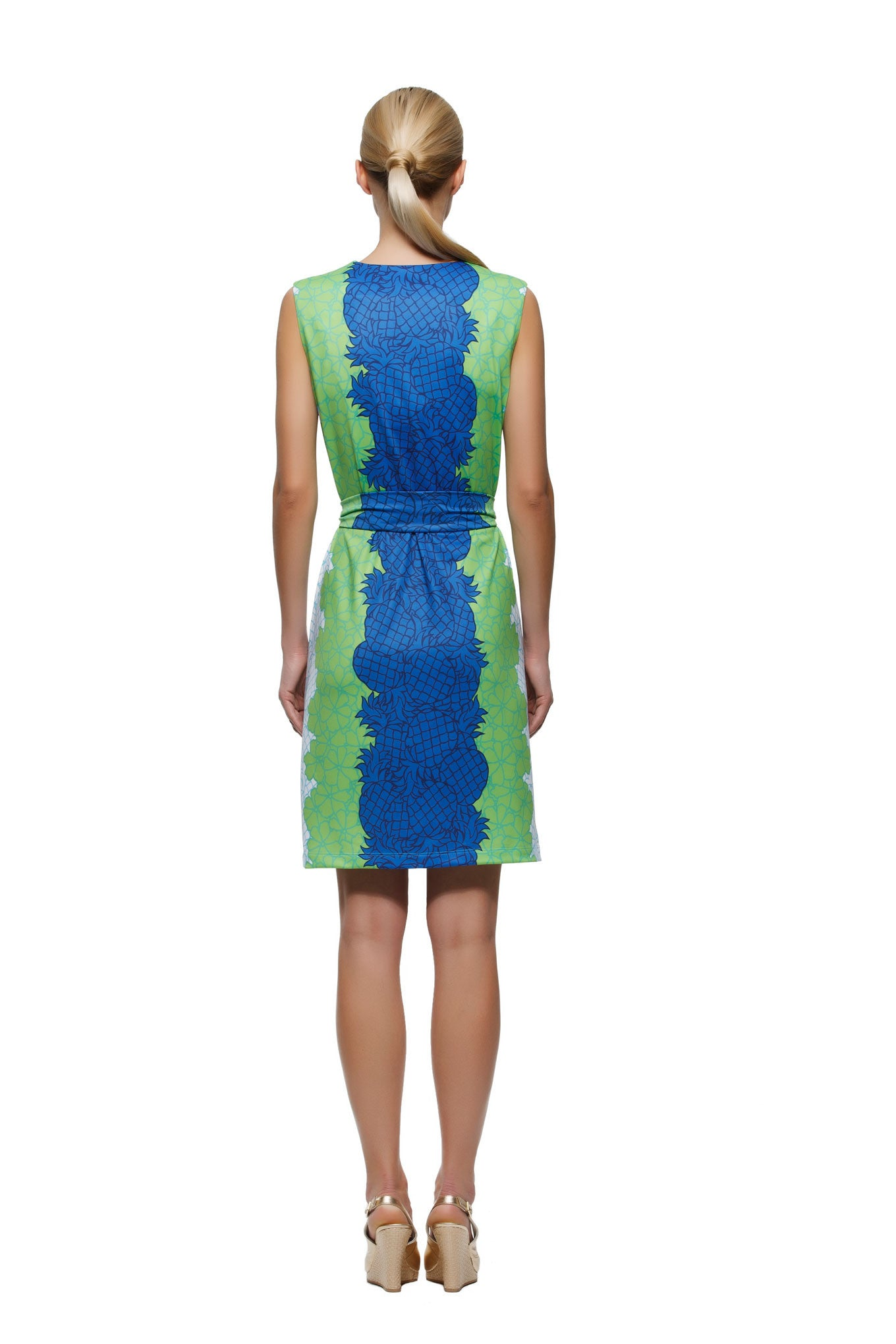 Darcy Dress in Pineapple - Rulon Reed