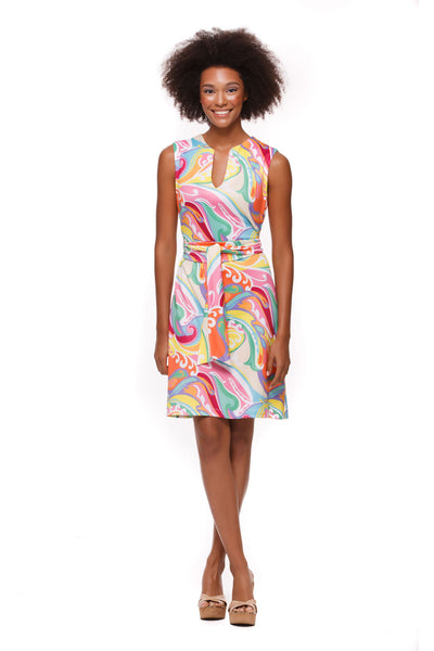 Darcy Dress in Wave - Rulon Reed