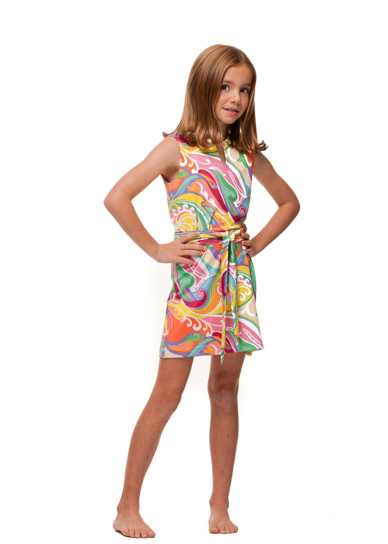 Heidi Dress in Wave - Rulon Reed
