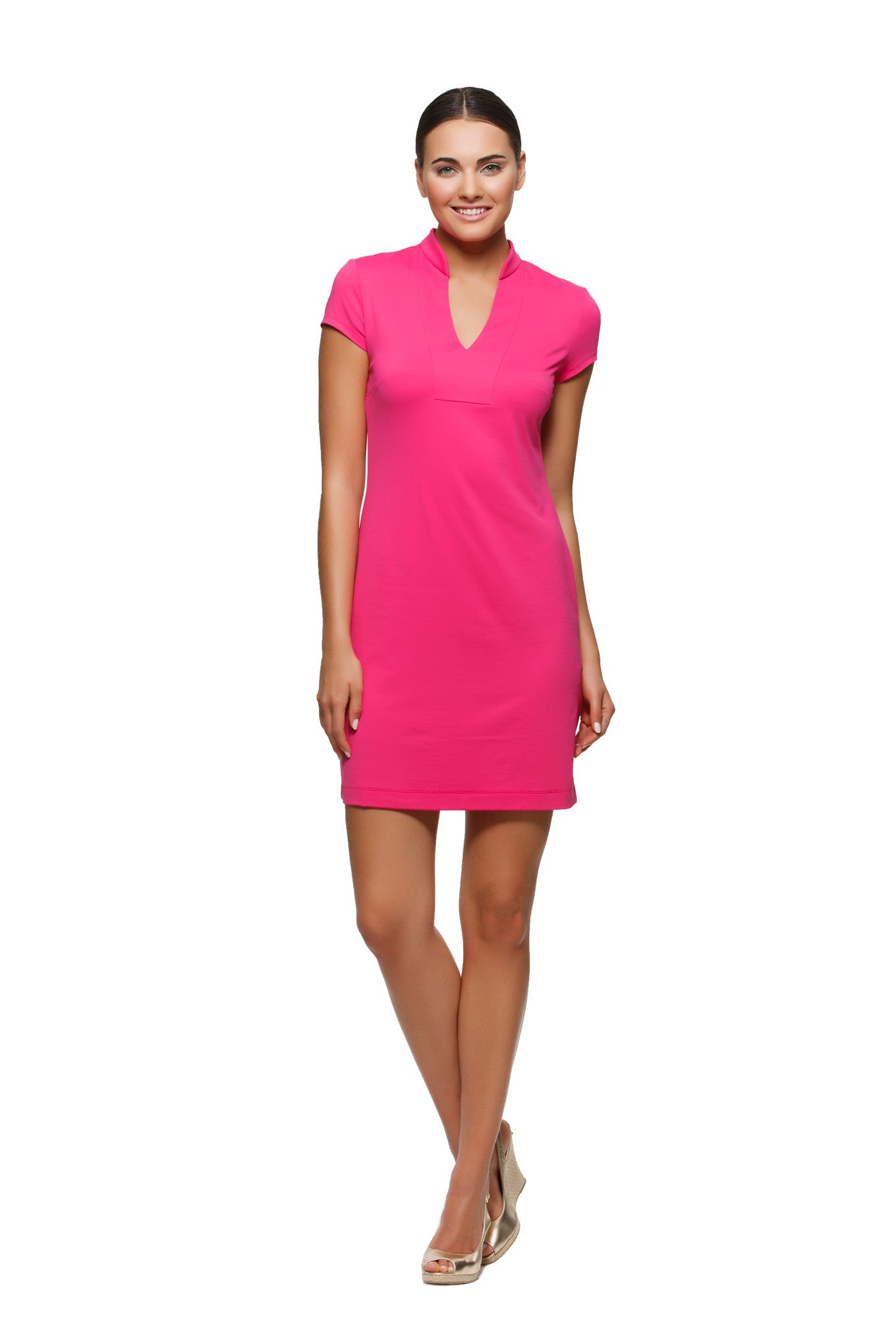 Parker Dress in Pink - Rulon Reed