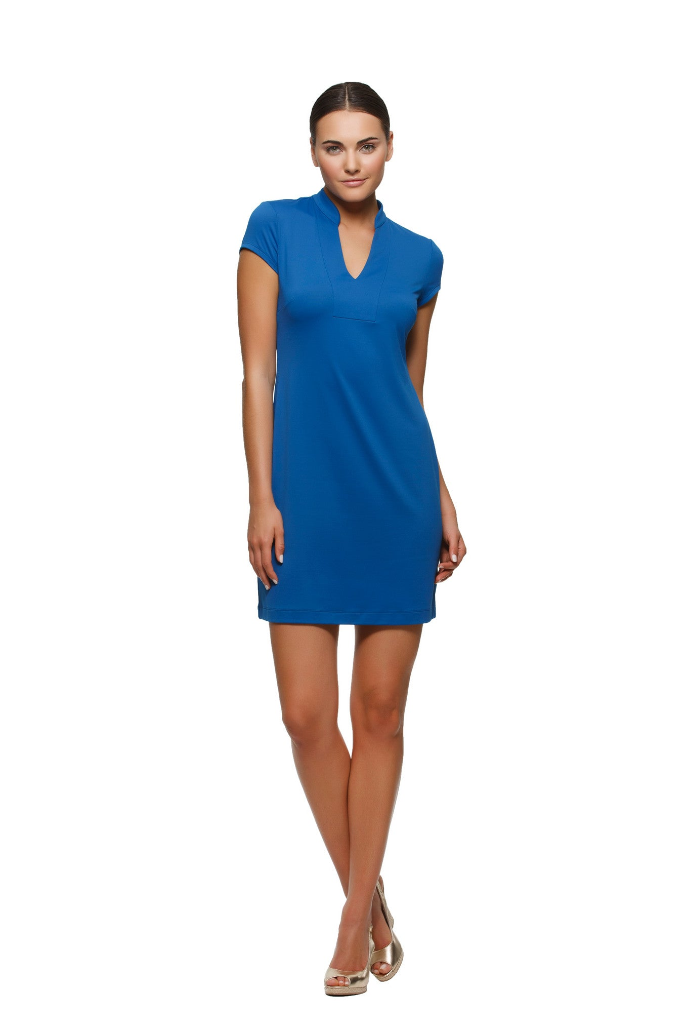 Parker Dress in Navy - Rulon Reed