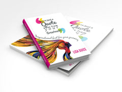 "**SOLD OUT**""You're just a Quote away from your Greatness"" (Book & Journal Bundle)"