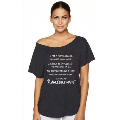 (SOLD OUT) I AM Flawlessly Made™  Masterpiece (Doleman Shirt)