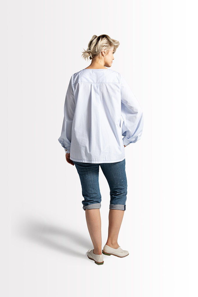 Emme Shirt // Light Blue