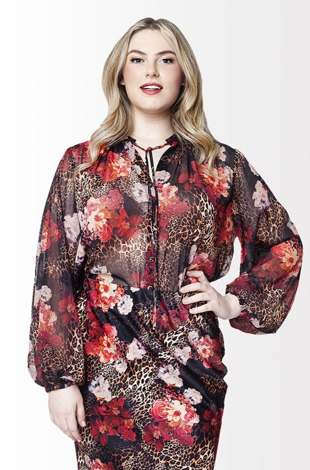 Gloss Blouse // Floral