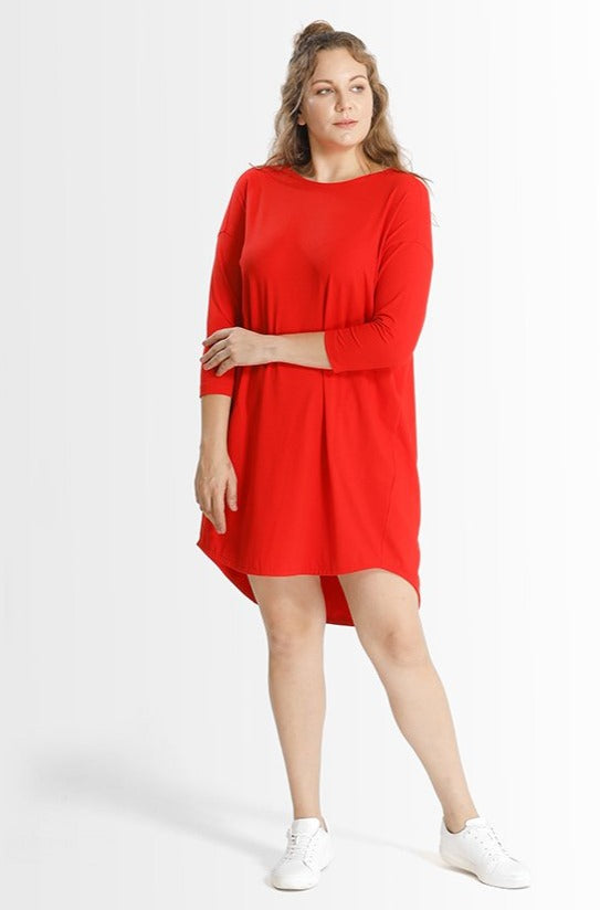 Khrstyana Dress // Poppy Red