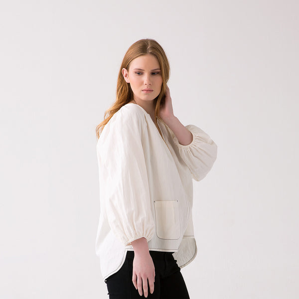 Scarlet relaxed Pull on top