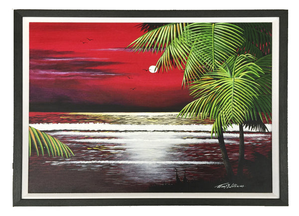 (LFB5) Caribbean red sky Three SKU: CRS3-01999