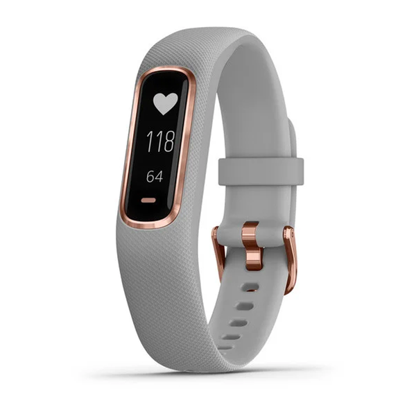 Garmin vívosmart 4 Gray with Rose Gold Hardware Small/Medium