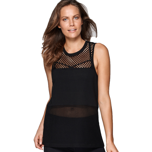 Lorna Jane Women's My Favourite Tank Black