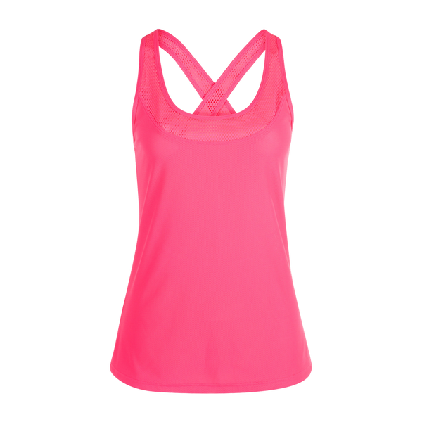 Lorna Jane Women's Swift Active Run Tank Funky Pink
