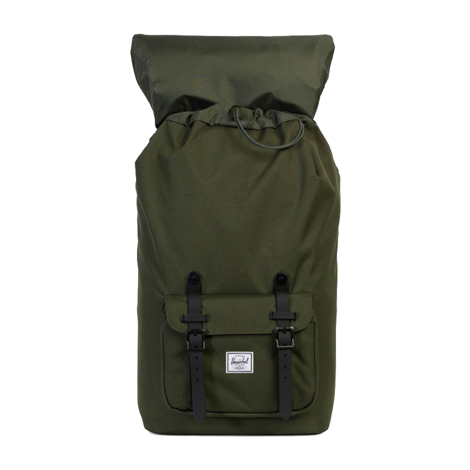 Herschel Lil America Poly/Rubber Forest/Black