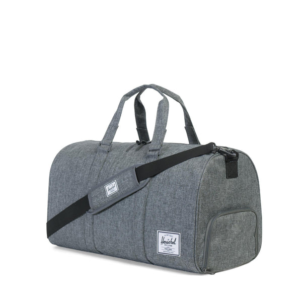 Herschel Novel Duffel 42.5L Raven Crosshatch