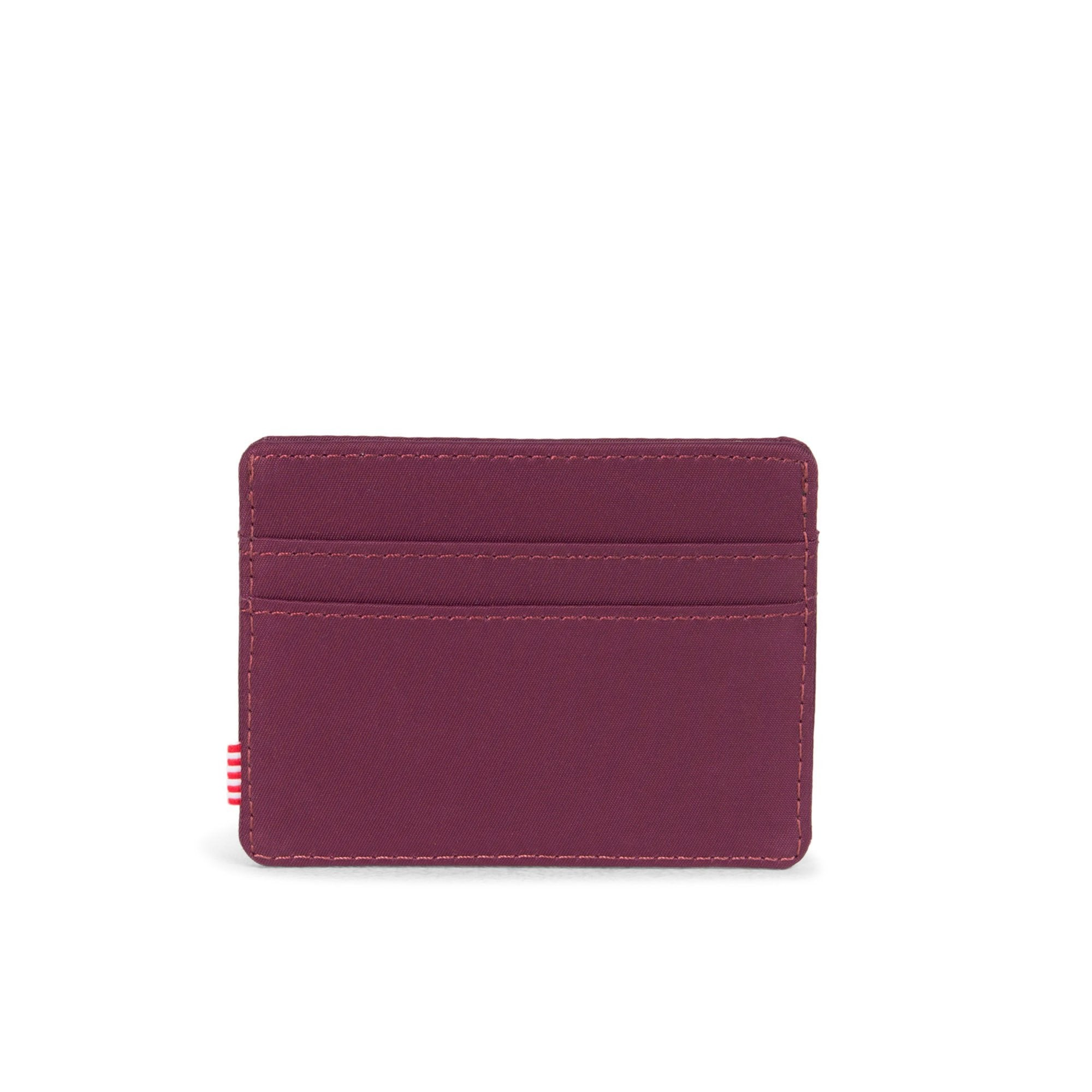 Herschel Compact Nylon Charlie Wallet Windsor Wine