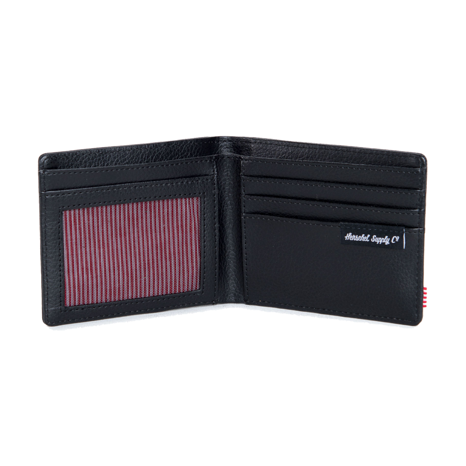 Herschel Hank Wallet Leather Black Snake