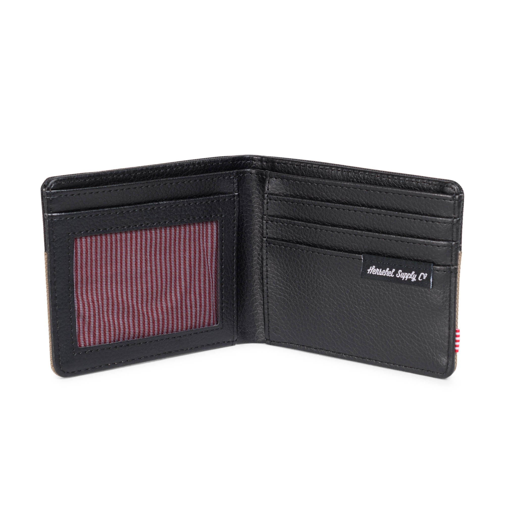 Herschel Hank Wallet Lead/Black