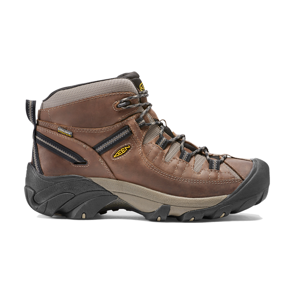Keen Men's Targhee II Mid Waterproof Shitake/Brindle