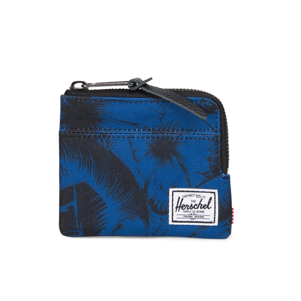 Herschel Johnny Wallet Jungle Floral Blue