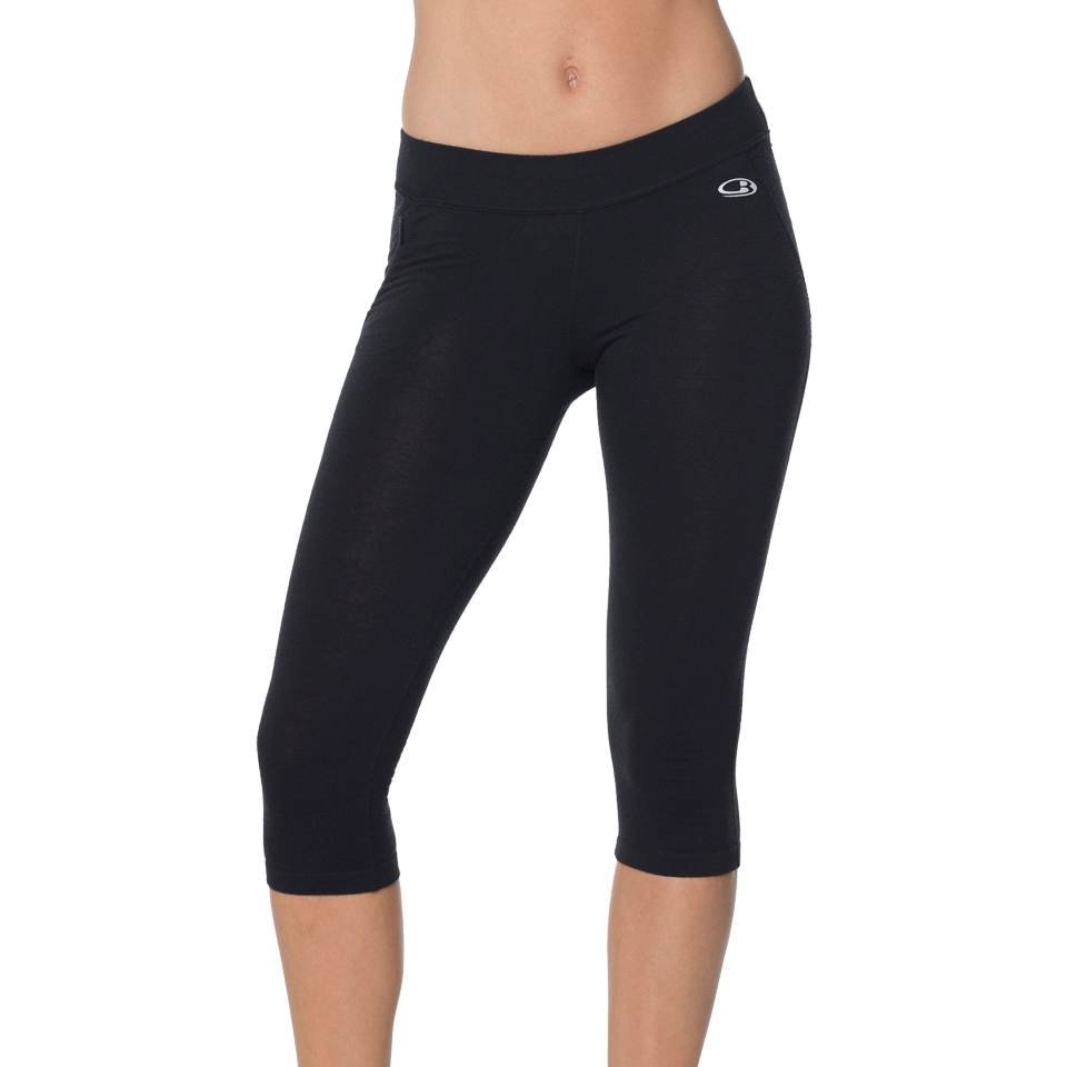 Icebreaker Women's Rush 3/4 Tight Black