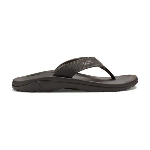 Olukai Men's 'Ohana Black/Dark Shadow