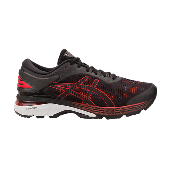 Asics Men's Gel-Kayano 25 Black/Classic Red