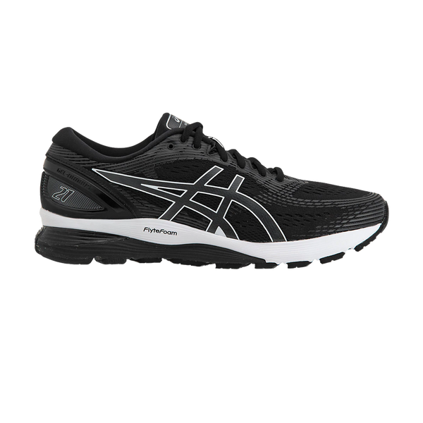 Asics Men's GEL-Nimbus 21 Black/Dark Grey