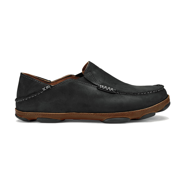 Olukai Men's Moloa Black/Toffee