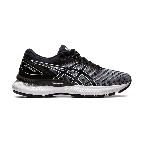 Asics Women's Gel-Nimbus 22 White/Black
