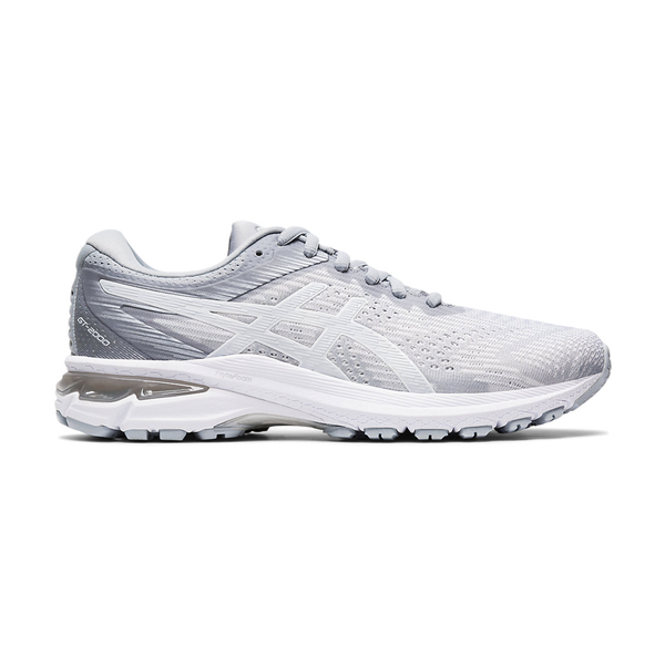 Asics Women's GT-2000 8 Piednont Grey/White