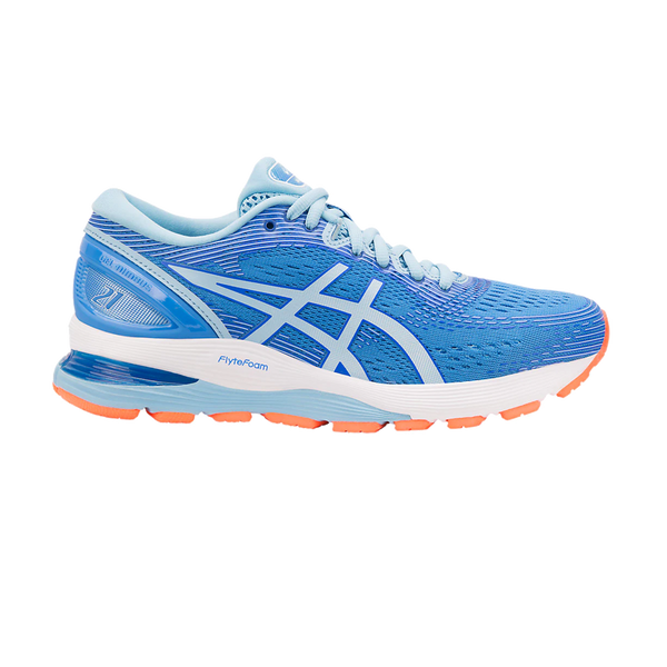 Asics Women's GEL-Nimbus 21 Blue Coast