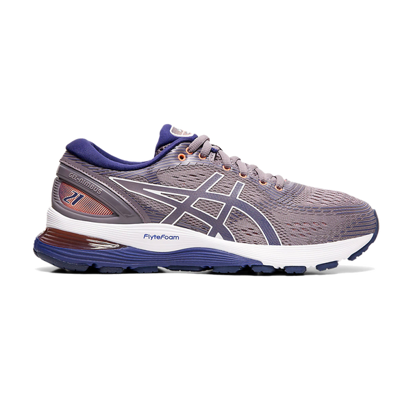 Asics Women's GEL-Nimbus 21 Lavender Grey