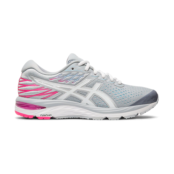 Asics Women's GEL-Cumulus 21 Piedmont Grey/White