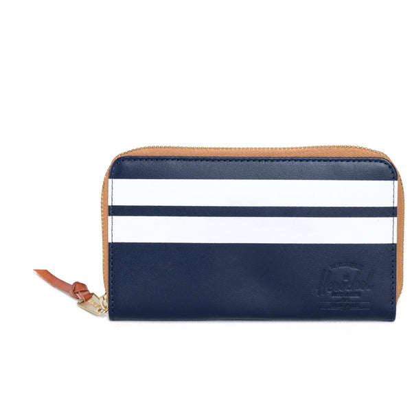 Herschel Thomas Wallet Peacoat Offset Smooth Leather