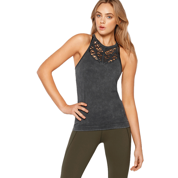 Lorna Jane Women's Vent Seamless Tank Black