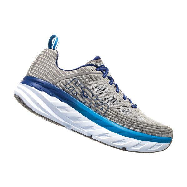 Hoka One One Mens Bondi 6 Vapor Blue/Frost Gray