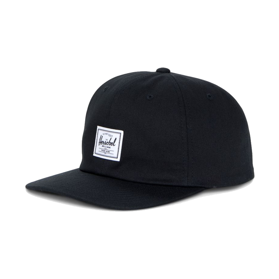 Herschel Albert Cotton Cap Black