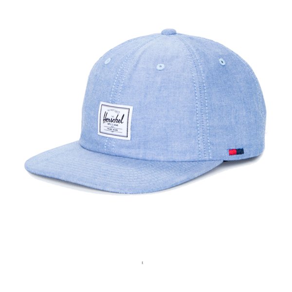 Herschel Albert Cotton Cap Chambray