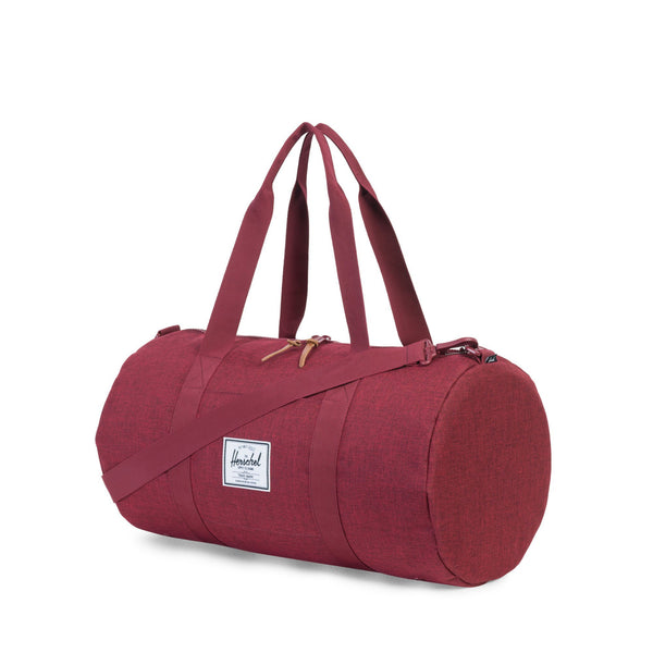 Herschel Sutton Duffle Mid-Volume Wine Tasting Crosshatch