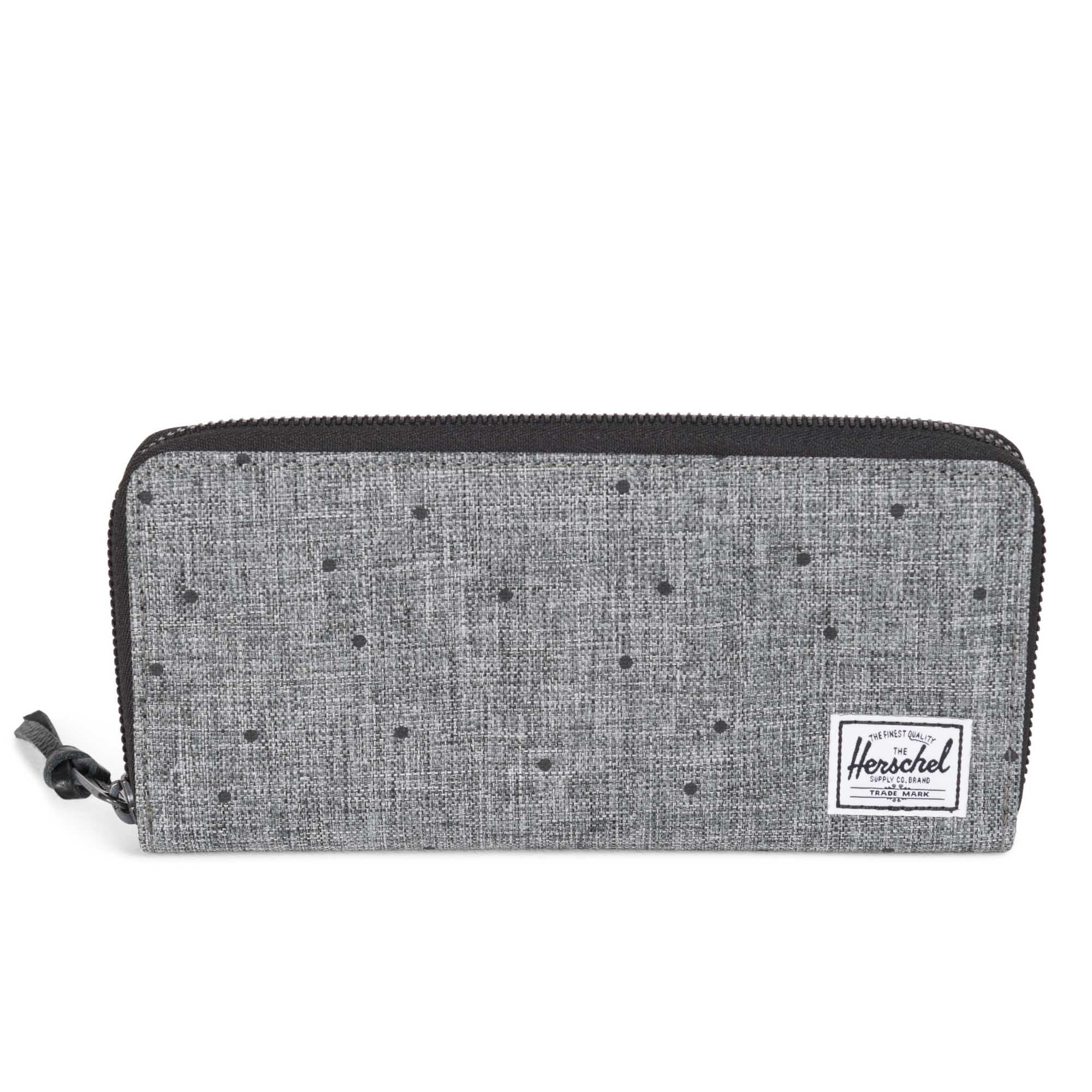Herschel Avenue Wallet Scattered Raven Crosshatch