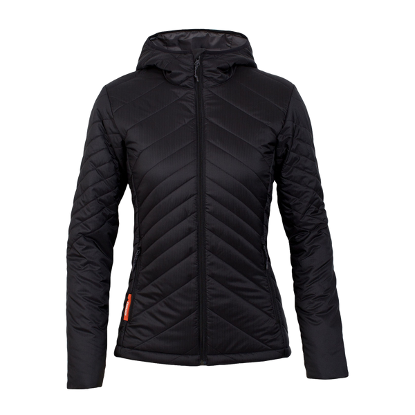 Icebreaker Women's MerinoLOFT Stratus Long Jacket Black